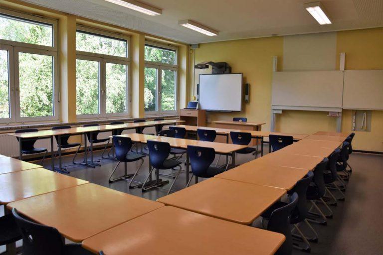 Unterrichtsraum 200er-Trakt