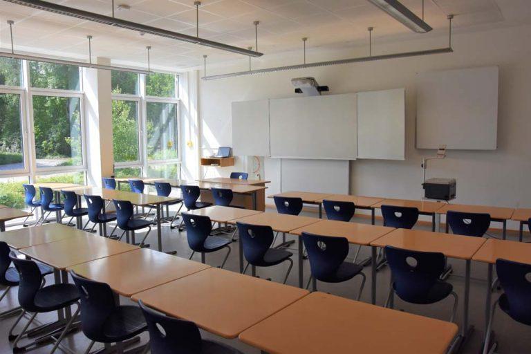 Unterrichtsraum 400er-Trakt