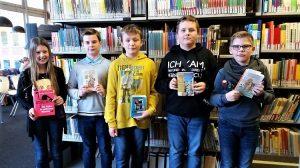 Teilnehmende SchülerInnen des Lesewettbewerbs 2019 am Ratsgymnasium