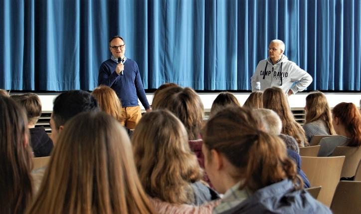 Ratsgymnasium Rotenburg dreht Film zum Jubiläum