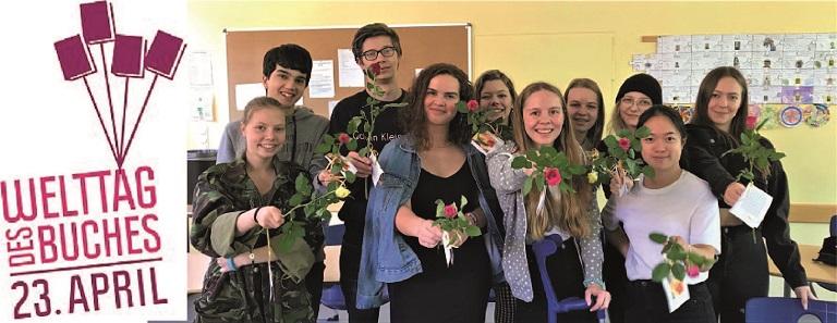 """Welttag des Buches"" am Ratsgymnasium"