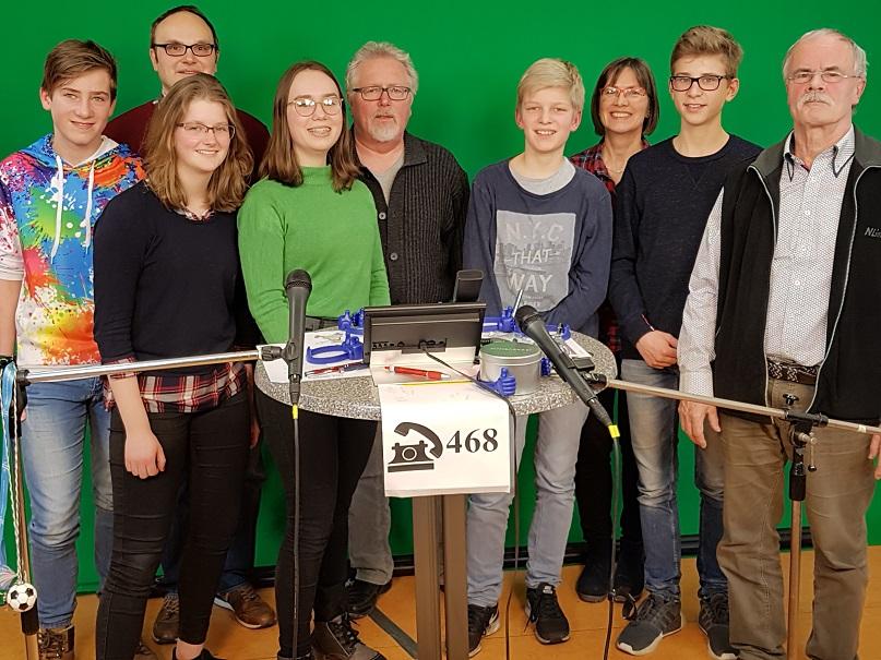 Film-AG des Ratsgymnasiums zu Besuch bei den Rotenburger Werken