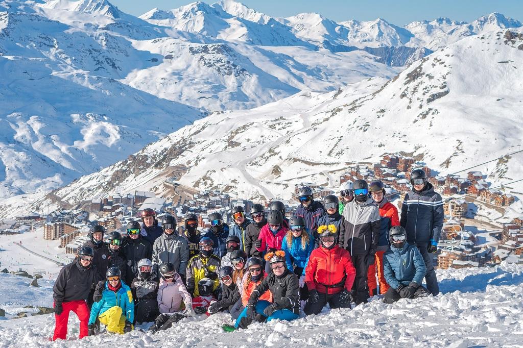 Skikurs in Val Thorens